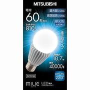 LDA11D-G/D-T1 [LED電球 E26口金 昼光色 810lm 密閉器具対応 調光器具対応 MILIE(ミライエ)]