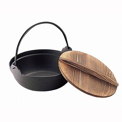 41201 [S鉄鍋 木蓋付 16]