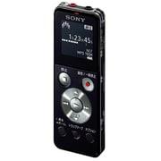 ICD-UX544F BC [ICレコーダー 8GBメモリー内蔵 FMラジオ機能 ブラック]