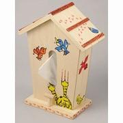 巣箱型ティッシュケース