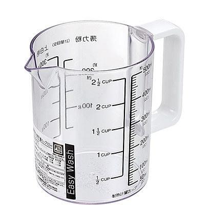 C-8678 [Easy Wash 食洗機対応耐熱計量カップ500ml]