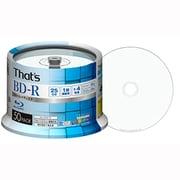BR-V25WWR50BC [録画用BD-R 追記型 1-4倍速 片面1層 25GB 50枚入り インクジェットプリンター対応 スピンドルケース]