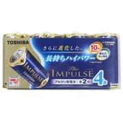 LR14HS 4MP [アルカリ乾電池 単二形 4本 まとめパック The IMPULSE]