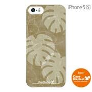 iPhone5s-YCM2P0424-78 [オリジナルデザイン apple iPhone5s アイフォン5s ケース (クラシック モンステラ)]