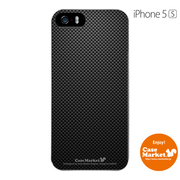 iPhone5s-YCM2P0489-78 [オリジナルデザイン apple iPhone5s アイフォン5s ケース (ブラックカーボンパターン Delicate)]