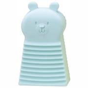 ILF4362 [ミニ洗濯板 クマ ブルー]