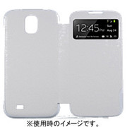 BRSW000MWH [GALAXY S4 VIEW CASE SAFFIANO PATTERN_WHITE]