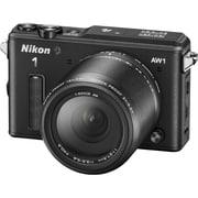 Nikon1 AW1 防水ズームレンズキット ブラック [ボディ ブラック+交換レンズ「1 NIKKOR AW 11-27.5mm f/3.5-5.6 ブラック」]