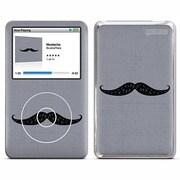 iPodclassic Mustache [デザインスキンシール]