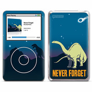 iPodclassic NeverForget [デザインスキンシール]