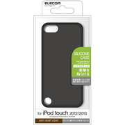 AVA-T13SCBK [iPod touch 2012/2013/シリコンケース/ブラック]