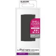 AVA-N13PVBK [iPod nano 2012/2013用 シェルカバー ブラック]