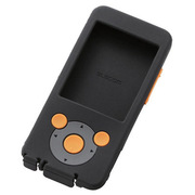 AVS-S13SCDBK [Walkman S/E 2013用 スムースシリコンケース ブラック]
