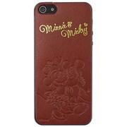 スマデコールプレミアムVer. iPhone 5s/5対応 ミッキー&ミニー [スマートフォン用ステッカー]