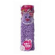 SUSU(スウスウ)バスマット(ロールパッケージ)抗菌45×60cmパープル [SUSU(スウスウ)シリーズ]