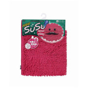 SUSU(スウスウ)バスマット抗菌50×80cmトロピカルピンク [SUSU(スウスウ)シリーズ]