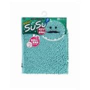 SUSU(スウスウ)バスマット抗菌50×80cmターコイズブルー [SUSU(スウスウ)シリーズ]
