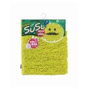 SUSU(スウスウ)バスマット抗菌50×80cmトロピカルグリーン [SUSU(スウスウ)シリーズ]