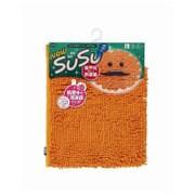 SUSU(スウスウ)バスマット抗菌50×80cmオレンジ [SUSU(スウスウ)シリーズ]