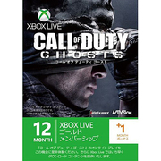 Xbox Live 12ヶ月+1ヶ月ゴールドメンバーシップ コール オブ デューティ ゴースト [ライセンスカード]