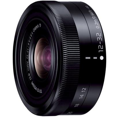 H-FS12032-K LUMIX G VARIO 12-32mm F3.5-5.6 ASPH. MEGA O.I.S. [ルミックス G バリオ 12-32mm/F3.5-5.6 ASPH. MEGA O.I.S. マイクロフォーサーズマウント ブラック]