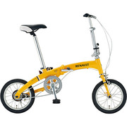 RENAULT AL-FDB140 HANDY [折りたたみ自転車 14型 変速なし オレンジ]