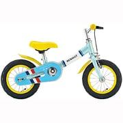 TRAINEE&BIKE12 Renault ブルー [幼児用自転車 12型 ベビーブルー]