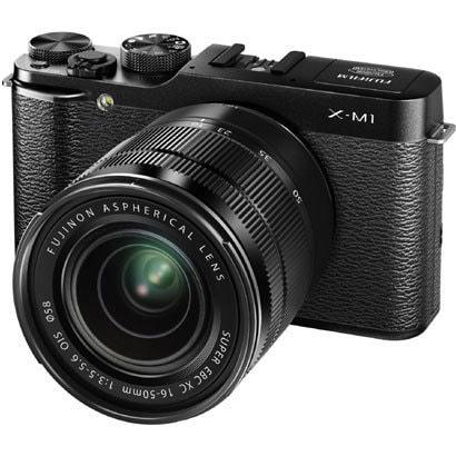 FUJIFILM X-M1 ブラック ダブルズームレンズキット [XC16-50mmF3.5-5.6/XC50-230mmF4.5-6.7]