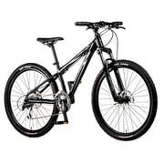 B-PXEAX436AB [スポーツ自転車 クロスステージEAX 360mm 26型 外装24段変速 ブラック]