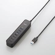 U3H-T706SBK [マグネット付き USB3.0 7ポート USBハブ]