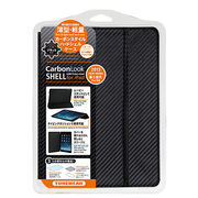 TUN-PD-000121 [TUNEWEAR CarbonLook SHELL with Front cover for iPad Air  カーボンブラック]