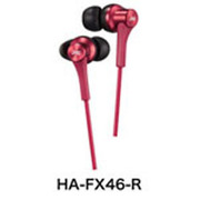 HA-FX46-R [密閉型インナーイヤー型ヘッドホン]