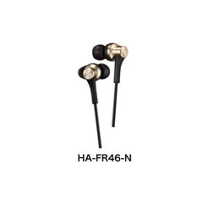 HA-FR46-N [密閉型インナーイヤー型ヘッドホン]
