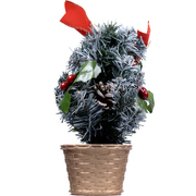 クリスマス テーブルツリースノー