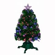 クリスマス ファイバーツリースター 90cm