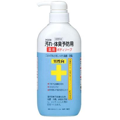 CTY-BM [体臭予防薬用ボディソープ 男性向 450ml]
