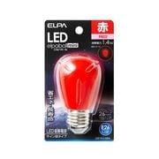 LDS1R-G-G904 [LED電球 E26口金 レッド LED elpaball mini(エルパボール ミニ)]