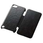 AVA-T13PVFBK [iPod touch 2012/2013用 フラップカバー ブラック]
