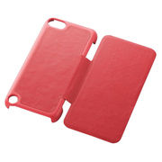 AVA-T13PVFRD [iPod touch 2012/2013用 フラップカバー レッド]