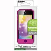 AVA-T13SCDPND [iPod touch 2012/2013用 スムースシリコンケース ディープピンク]