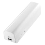 ISMB-S3000W [iPhone・スマートフォン用モバイルバッテリー(3000mAh) USB出力:1ポート 最大:1A 白]