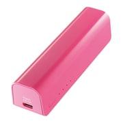 ISMB-S3000P [iPhone・スマートフォン用モバイルバッテリー(3000mAh) USB出力:1ポート 最大:1A 桃]