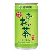 おーいお茶 緑茶 缶 190g×20本 [緑茶飲料]