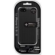 MB-IP5STRBK [iPhone 5/5s/5c TRAVEL ハイブリッドケース ブラック]