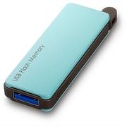 RUF3-PW32G-BL [USBメモリ USB3.0対応 オートリターン機能搭載 32GB ブルー]