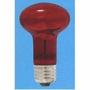 R62 E26 110V-40W(CRT) [白熱電球 レフ電球 E26口金 110V 40W形 62mm径 耐熱透明カラー レッド]