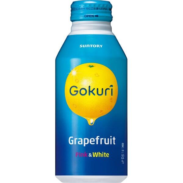 Gokuriグレープフルーツ 缶 400g×24本 [果実果汁飲料]