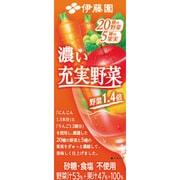 濃い充実野菜紙パック200Ml×24本 [野菜果汁飲料]