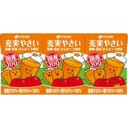 充実野菜紙パック100Ml3P×6本 [野菜果汁飲料]