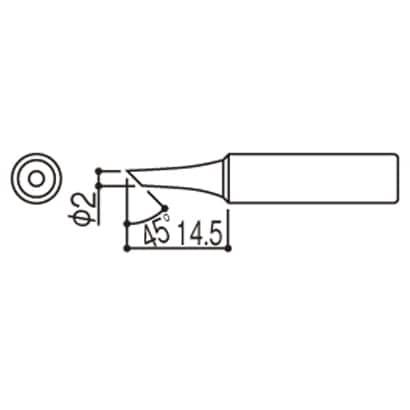 T18-C2 [こて先 2C型]
